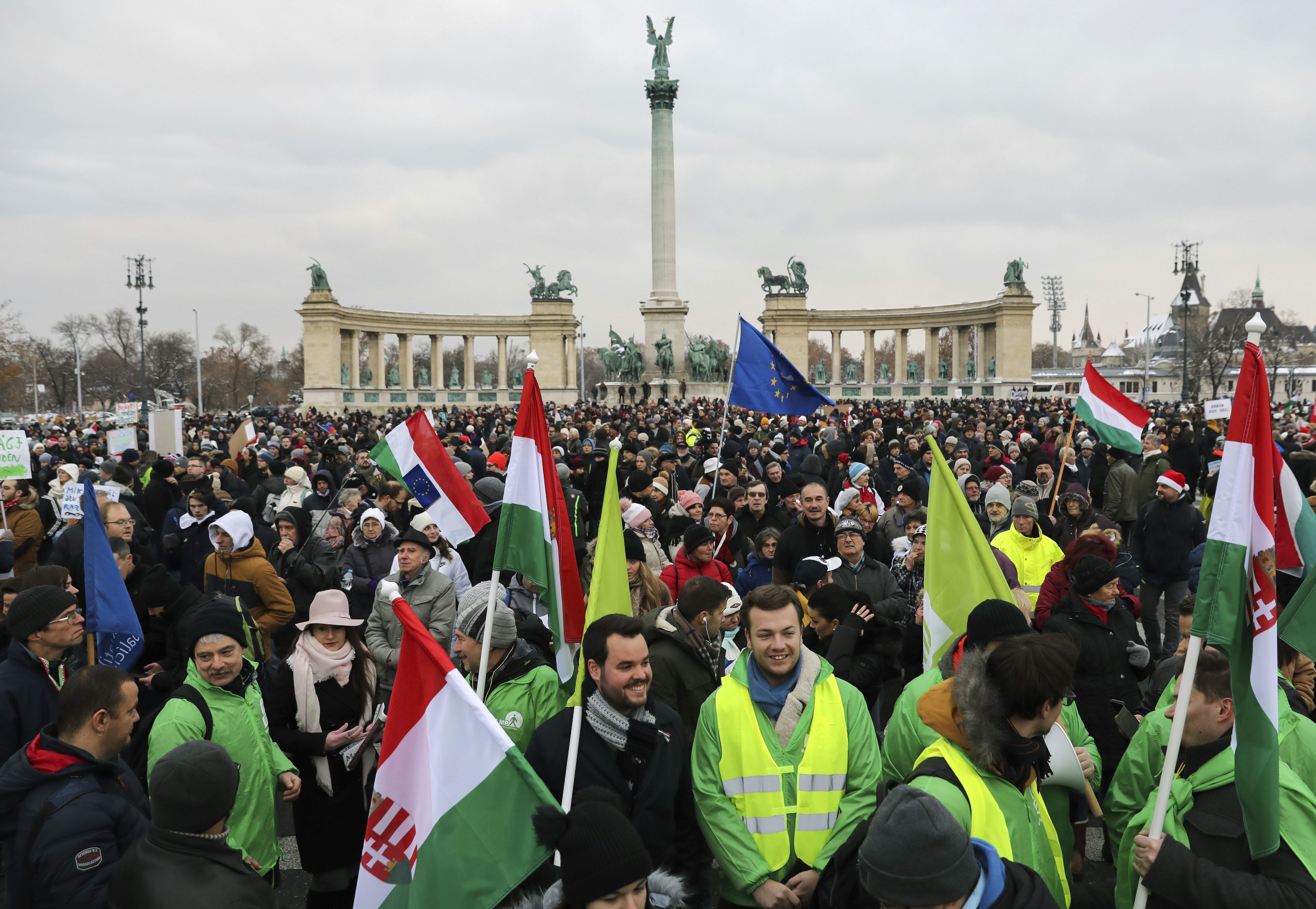 tüntetés budapest
