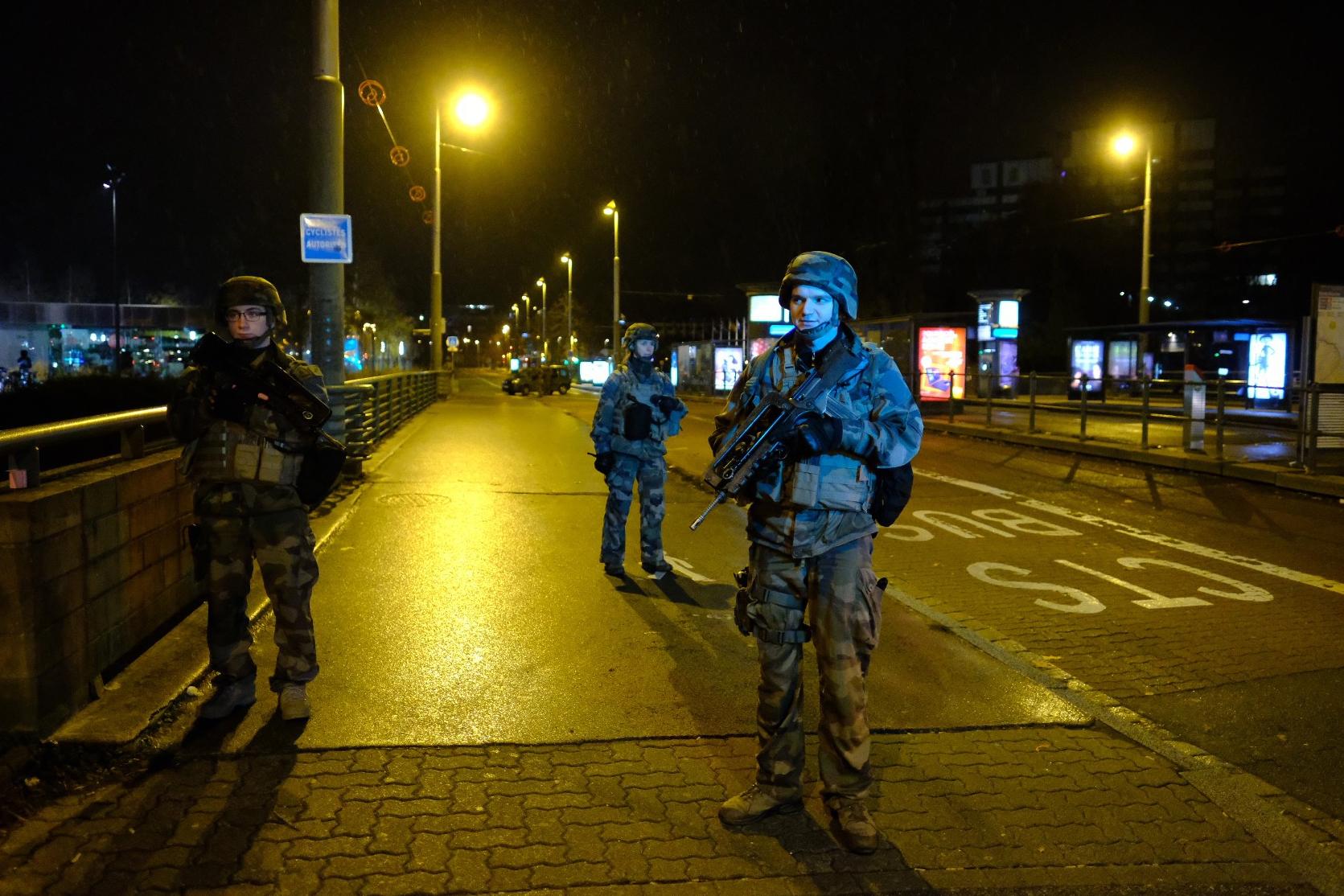 Strasbourgi lövöldözés