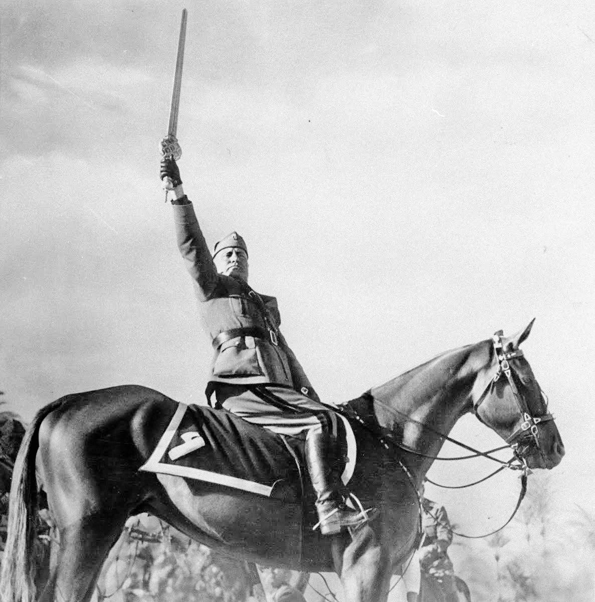Benito Mussolini (Fotó: Wikipedia)