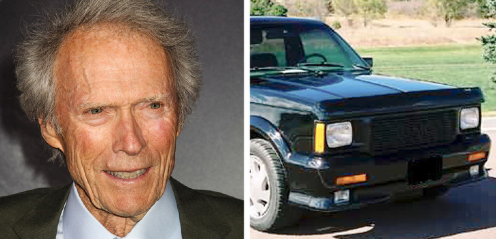 Clint Eastwood: GMC Typhoon