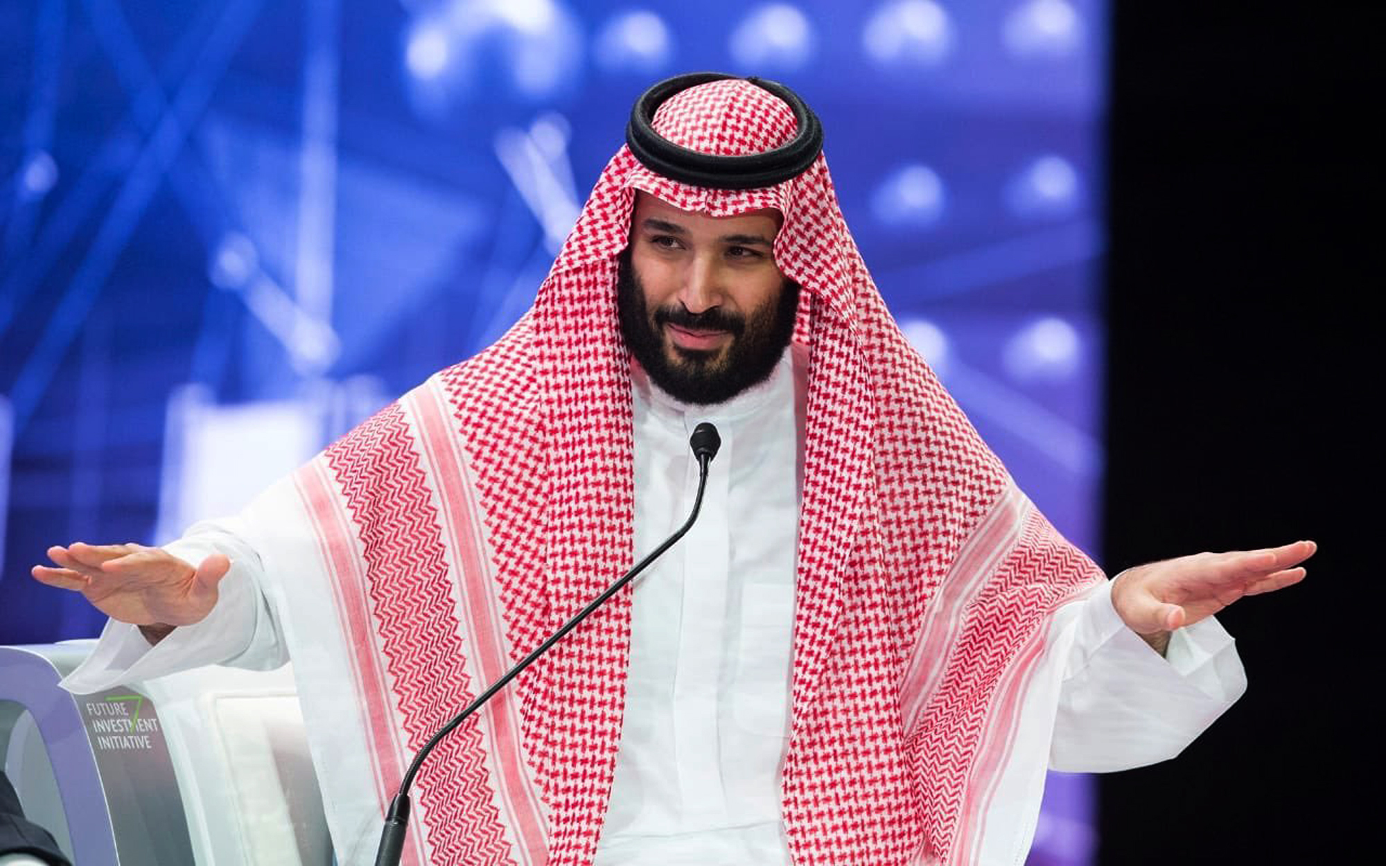 He described the murder of a journalist as a holy crown prince as a