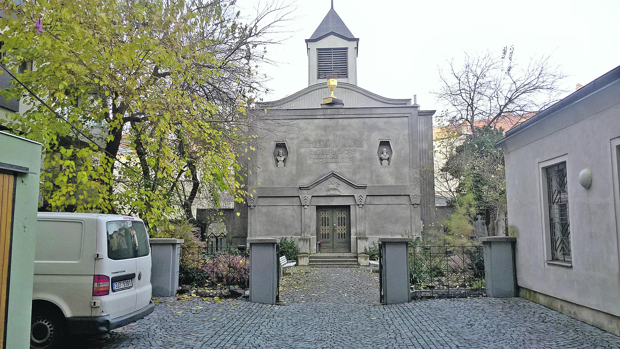 A másik Betlémska kaple