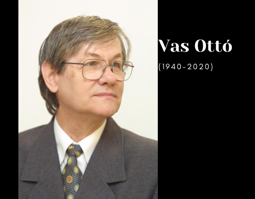 Búcsú Vas Ottótól (1940-2020)